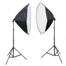 METTLE Studioset LED STARTER KIT 300 (8x25 W)
