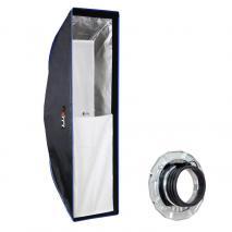 LIFE of PHOTO Easy Setup Striplight-Softbox 25x90 cm für PROFOTO