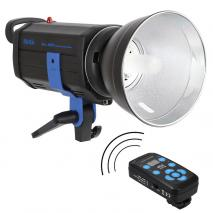 METTLE Studioblitz MT-300 DR (300 WS) mit Funkfernsteuerung