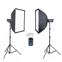 METTLE Studioblitz-Set PROSTUDIO 2300 (2x 300 WS)