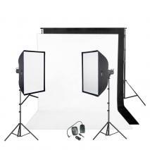 METTLE Studioset EASYSTUDIO 3000 (2x 200 WS)
