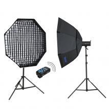 METTLE Studioblitz-Set INFINITY FE-620 (2x 400 WS)