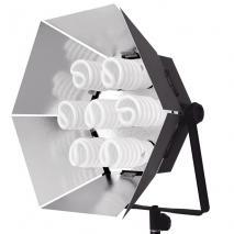 NANGUANG Tageslicht-Studioleuchte NG 785-32 (7x32 Watt)