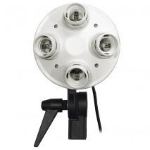 LIFE of PHOTO 4-in-1 Lampenhalter ES-470 für E27
