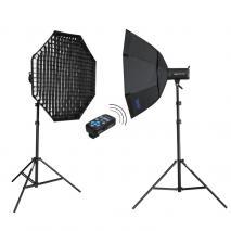 METTLE Studioset INFINITY FE-520 (2x 400 WS)
