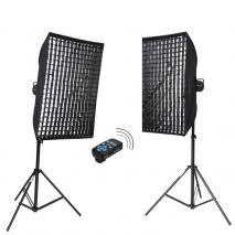 METTLE Studioset INFINITY GE-550 PLUS (2x 400 WS)