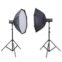 METTLE Studioset INFINITY LE-440 (2x 400 WS)