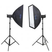 METTLE Studioset INFINITY ME-420 (2x 400 WS)