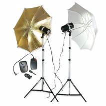 METTLE Studio Portrait-Set MIAMI (2x 160 WS) Studioblitz-Set Studioblitzanlage