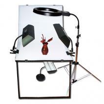 NANGUANG Studioset MONTREAL mit Fototisch 100x60 cm