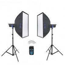 METTLE Studioblitz-Set PROSTUDIO 2700 (2x 600 WS)