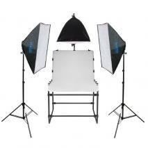 METTLE Studioset SYDNEY mit Fototisch 200x100 cm