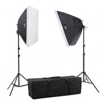LIFE of PHOTO Studioset TS-6090-2, 8x150 W