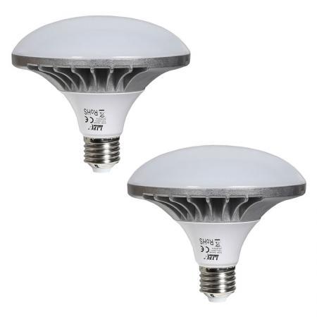 2x LIFE OF PHOTO LED-Leuchtmittel 50 W