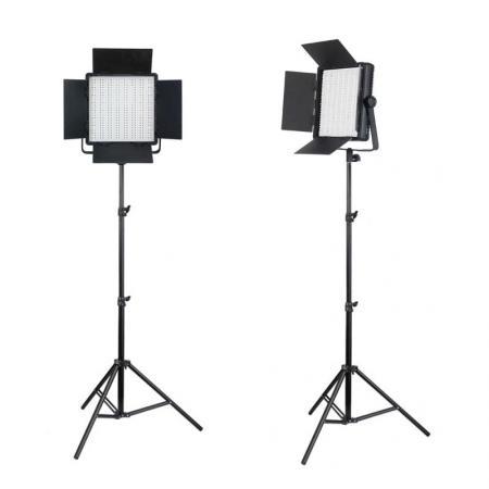 NANGUANG LED-Studioset DOMINO DUO 600 SA
