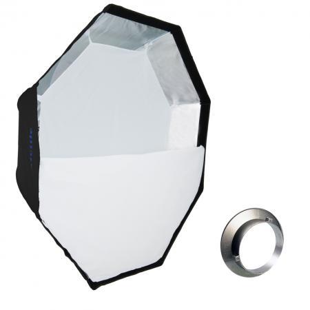 METTLE Easy-Setup Octagon Softbox, Ø 150 cm für BOWENS & METTLE