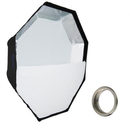 METTLE Easy-Setup Octagon Softbox, Ø 90 cm für MULTIBLITZ V