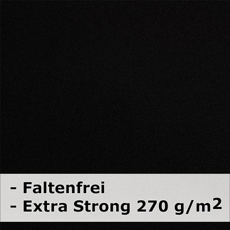 METTLE Faltenfreier Stoffhintergrund super strong, schwarz, 3x6 m