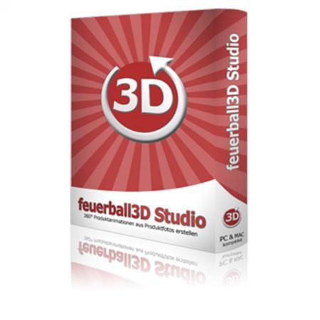 feuerball3D Studio - Software für Foto-Drehteller & Produktfotografie
