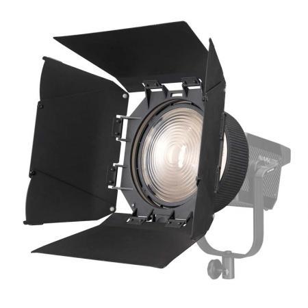 NANLITE Fresnel-Vorsatz 10-45° FL-20G mit Lichtklappen für LED-Leuchte FORZA 500