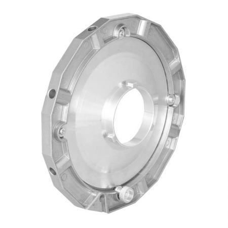 NANLITE Softbox-Adapter für NANLITE FORZA 60 für Lichtformer anderer Hersteller