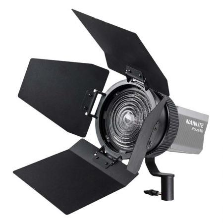 NANLITE Fresnel-Vorsatz 10-45° FL-11 mit Lichtklappen für LED-Leuchte FORZA 60