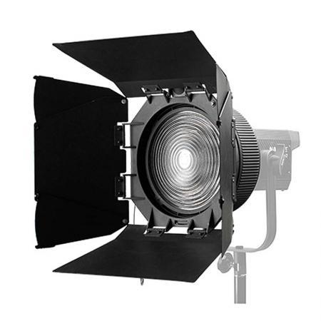 NANLITE Fresnel-Vorsatz 10-45° FL-20 mit Lichtklappen für LED-Leuchte FORZA 300