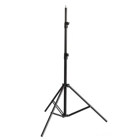 METTLE Lampenstativ, Studiostativ 300 cm mit Luftdämpfung