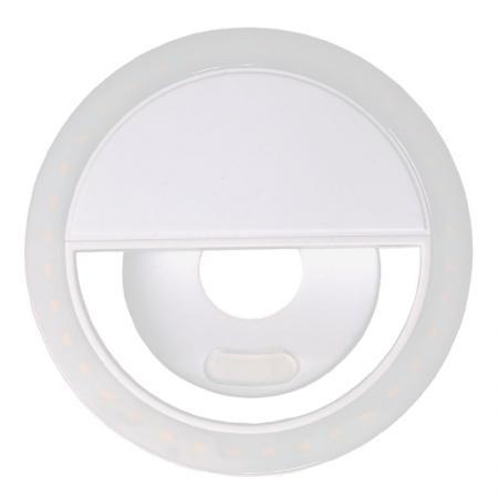 METTLE LED Selfie-Ringlicht SRL-36 für Handy & Smartphone white