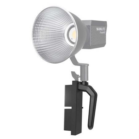 NANLITE Haltegriff BH-FZ60 mit Akku-Adapter für LED-Leuchte FORZA 60