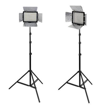 METTLE LED-Videoleuchte Videolicht-Set VL-2000