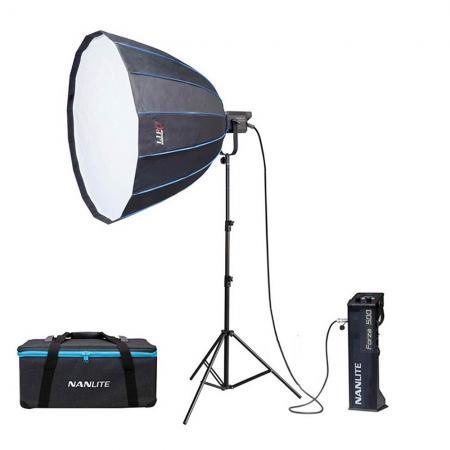NANLITE LED Studioset FORZA PS-5000