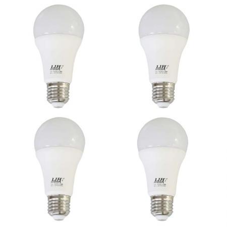 4x LIFE OF PHOTO Leuchtmittel LED-Lampe 18 Watt 5400°K Fotolampe