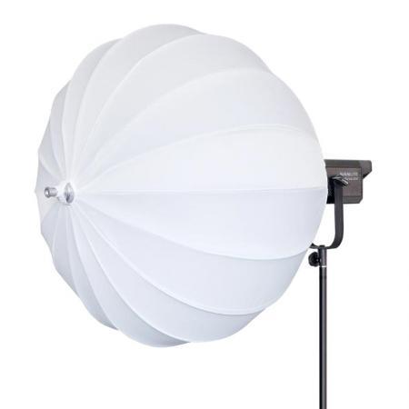 NANLITE LED Studioleuchte FORZA 300 mit Ambilight Ball-Softbox Ø 65 cm