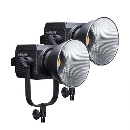 2x NANLITE LED Studioleuchte FORZA 500