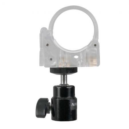 NANLITE Halteklemme mit Kugelkopf HD-T12+BH für PAVOTUBE-Modelle