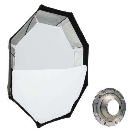METTLE Octagon-Softbox Ø 140 cm für MULTIBLITZ P
