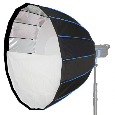 LIFE of PHOTO Parabol Deep Para-Softbox Ø 120 cm für MULTIBLITZ V