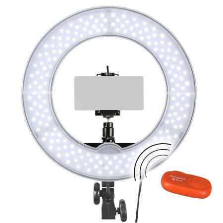 METTLE Selfie Licht-Set RLS-12 mit LED Ringleuchte und Smartphone-Halterung