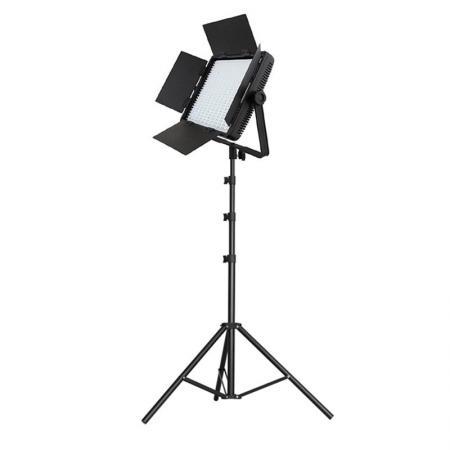 NANGUANG Bi-Color LED-Studioset DOMINO 900 CSA Fotostudio Beleuchtung Set