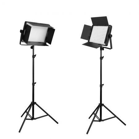 NANLITE Bi-Color LED-Studioset DOMINO DUO 1200 CSA