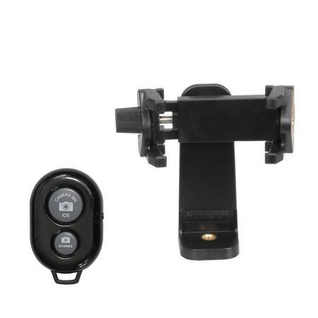 METTLE Smartphone-, Handy-Halter mit Bluetooth Fernauslöser