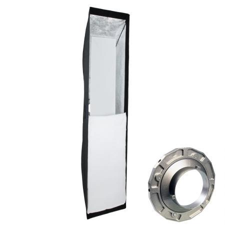 METTLE Striplight Softbox, 40x180 cm für BOWENS & METTLE