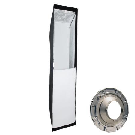 METTLE Striplight Softbox, 40x180 cm für MULTIBLITZ P