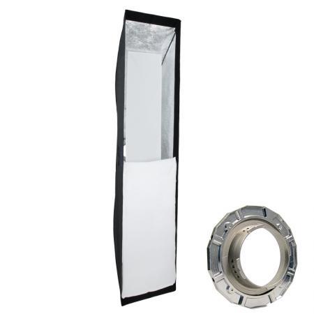 METTLE Striplight Softbox, 40x180 cm für MULTIBLITZ V