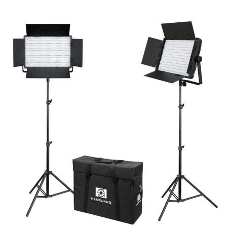 NANLITE LED Beleuchtungs-SET CN-1200 CSA mit Studiotasche Studioset für Fotostudio