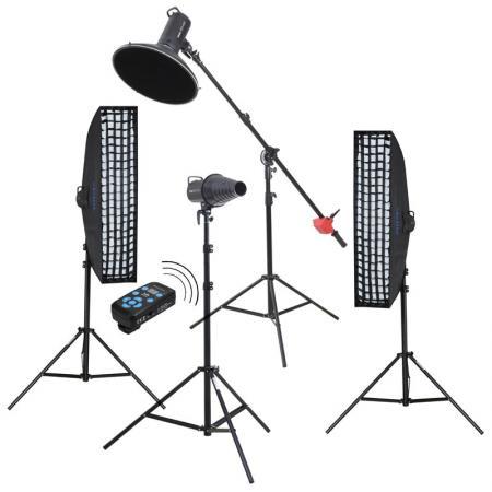 METTLE Studioblitz-Set FASHION & BEAUTY  630 PLUS (4x 400 WS)
