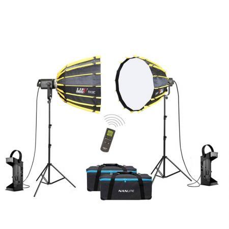 NANLITE LED-Studioset FORZA SB-2400 Wireless