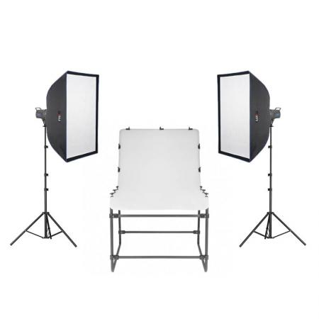 METTLE Studioset NEWPORT mit Fototisch 200x100 cm