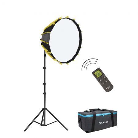 NANLITE LED-Studioset FORZA SB-700 Wireless Fotostudio Beleuchtung Set